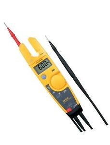 Fluke T5 600 Usacal 600v Voltage Continuity And Current Tester With A