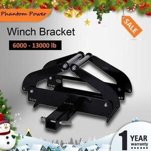 Phantom Winch Cradle Mounting Plate Bracket For Truck Trailer 4wd Atv Foldable