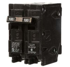 Murray 100 Amp 2 pole Circuit Breakers Mp2100p Type Mp t