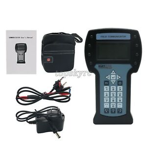Handheld Hart Field Communicator Pressure Temperature Transmitter Calibration Ts