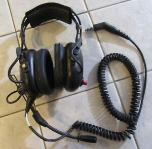 Firecom Headset Wired Radio Transmits Fh 10 Fire Fighter Fire Truck