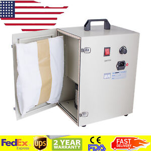 Portable Dental Digital Dust Collector Vacuum Cleaner Lab Device Machine Unit Us