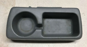 1980 1996 Ford Truck F150 F250 F350 Bronco Bench Seat Cup Holder Lt Gray 18172