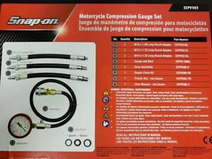 Snap On Eepv503 Motorcycle Compression Gauge Tools