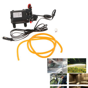 Powerful 12v Quick Car Wash High Pressure Washer Double Water Pump Kit