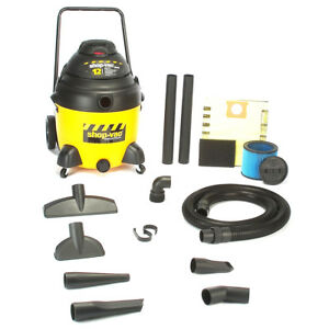 Shopvac 9241810 18 gallon 12 amp Industrial Switch Reluctance Wet Dry Vacuum
