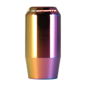 Dc Sports Universal Manual Shift Knob Shaft Type neo Chrome