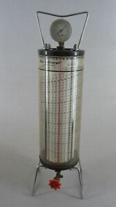 Vintage Robinair Dial a charge Refrigerant Charging Cylinder Free Shipping