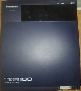 Panasonic Kx tda100 Hybrid Ip pbx Phone System Including Tva 50 Voicemail