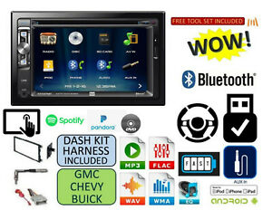 Cd Dvd Aux Touchscreen Bluetooth Radio Stereo Kit Fits Chevy gmc Truck van suv