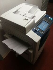 Xerox Workcentre 7556 Color Copier Multifunction System Slightly Used