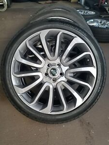 Range Rover Autobiography Oem Graphite Edition 22 Inch Flawless