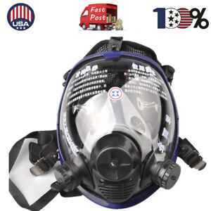 Anti dust Painting Spraying Respirator Gas Mask For 3m 6800 Full Face Facepiece