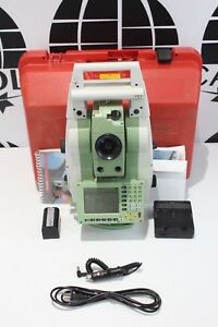 Leica Total Station Tcrp1205 R300 W Rh1200 Radio Tcrp 1205