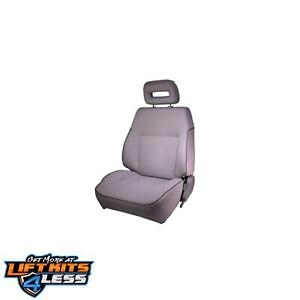 Rugged Ridge 53420 09 Gray Factory Style Rplcmnt Seat For 1986 95 Suzuki Samurai