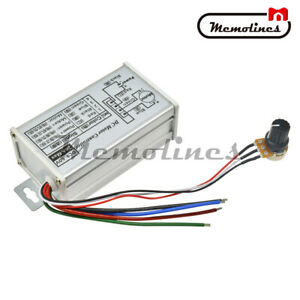 9v 60v 20a Pwm Dc Motor Stepless Speed Controller Switch Reversible Pulse Driver