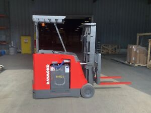2010 Raymond Pacer Electric Forklift Model R420 4000lb Capacity