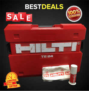 Hilti Case For Te 24 kit Box Only Preowned Fast Shipping