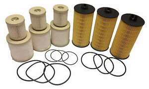 2003 2007 Ford 6 0l Oil And Fuel Filter 3 Sets Of Fd4604 Fl2016