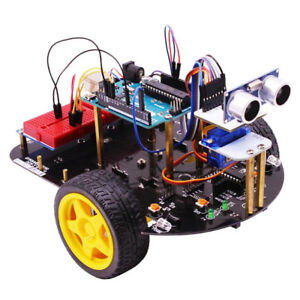Yahboom Smartduino 2wd Smart Robot Car And Starter Kit 2in1 For Arduino Uno