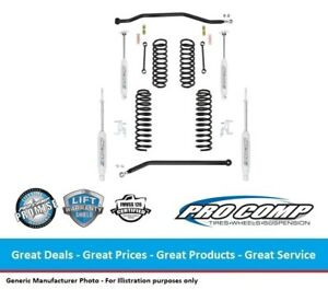 Pro Comp Jeep Jk Wrangler 3 5 Inch Coil Spring Lift Kit W Nitro Shocks 4 door