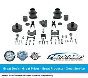 Pro Comp 3 Inch Nitro Leveling Lift Kit For 07 18 Jeep Jk Wrangler 66150k