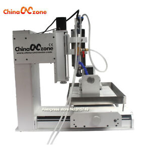 Cnc 3040 5axis Engraving Carving Router Cnc Metal Milling Stain Steel Machine