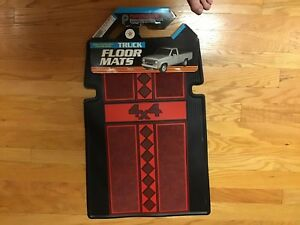 Chevy Ford Dodge Toyota 4x4 Truck Rubber Floor Mats