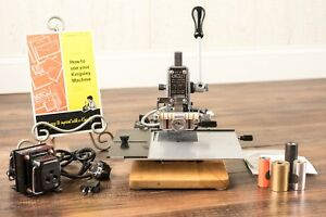 Kingsley Hot Foil Stamping Machine M 50 new Heater