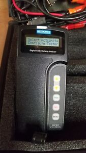 Midtronics Micro Celltron Battery Analyzer With Printer Tested Good 8