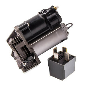 Air Suspension Air Compressor Pump For 2006 Mercedes Ml Class W164 With Relay