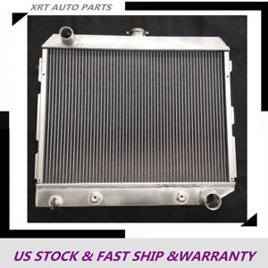 3 Rows Core All Aluminum Radiator Fit Mopar Dodge Plymouth Cars 1968 74