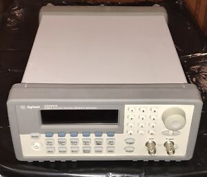 Hp Agilent Keysight 33220a Function Arbitrary Signal Generator 20mhz Working