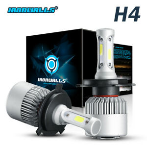 H4 Hb2 9003 Led Headlight Conversion Kits Hi Low Beam Power 1500w 6000k 225000lm
