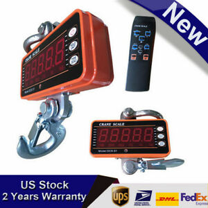 Digital Type 1000kg 2000lbs Industrial Crane Scale Heavy Duty remote Controller