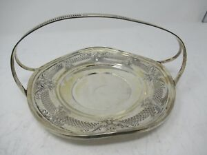 Sterling Silver 925 Fruit Candy Nut Dish Bowl Centerpiece Used 294 Grams