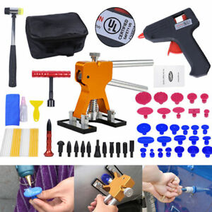 Pdr Tools Dent Puller Lifter Paintless Dent Repair Hail Removal Hammer Glue Kits