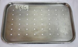 Polar Ware Stainless Steel Perforated Instrument Tray 287gs