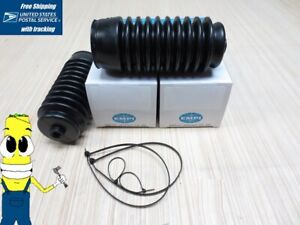 Rack Pinion Boot Kit For Toyota Corolla 1987 Bellow Boots L R Pwr Steer Fx