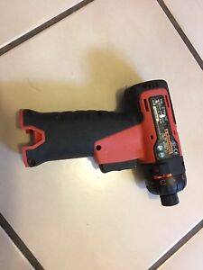 Snap On Tools 1 4 Cordless Orange Screwdriver Body Only No Battery No Charger