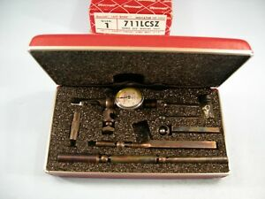 New Starrett No 711lcsz 0005 Last Word Universal Dial Test Indicator Machinist