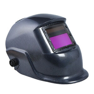 Welding Helmet Auto Darkening Mask Grinding Solar Powered Soldering Face Cover