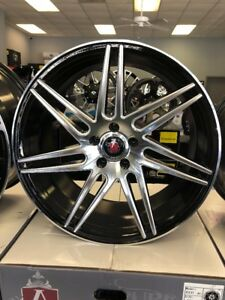 Axe Ex31 Wheels Rims 20x9 20x10 5 Staggered Mustang G35 350z Accord Genesis