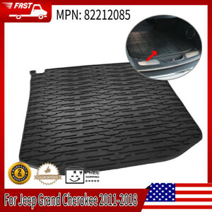 All Weather 82212085 Car Cargo Tray Area Mats For Jeep Grand Cherokee 2011 2018