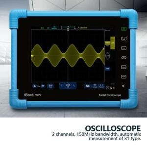 Micsing Lcd Digital Tablet Storage Oscilloscope 150mhz 2ch To 1152 Plus 100 240v