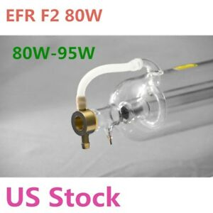 Us Stock Efr F2 80w Co2 Sealed Laser Tube For Laser Engraver