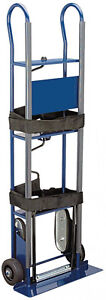 Hand Truck Appliance Dolly Straps Moving Utility Stair Wheels Cart 600 Lb Haul