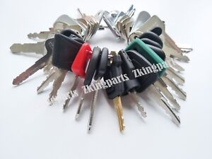 38 New Keys Heavy Construction Equipment Key Set Heavy Duty Ignition Key Set