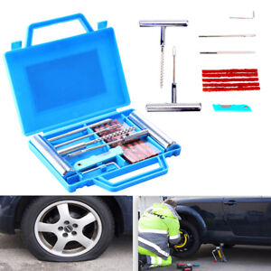 11x Universal Heavy Duty Portable Tire Repair Kit Onroad For Suvs Cars