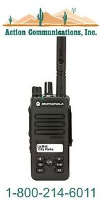 New Motorola Xpr 3500 Vhf 136 174 Mhz 5 Watt 128 Channel Two Way Radio